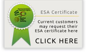 ESA certified