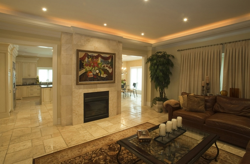 representation of recessed lighting to add value