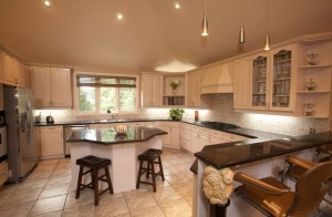 kitchen space lighting