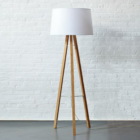 image of a tripod floor lamp