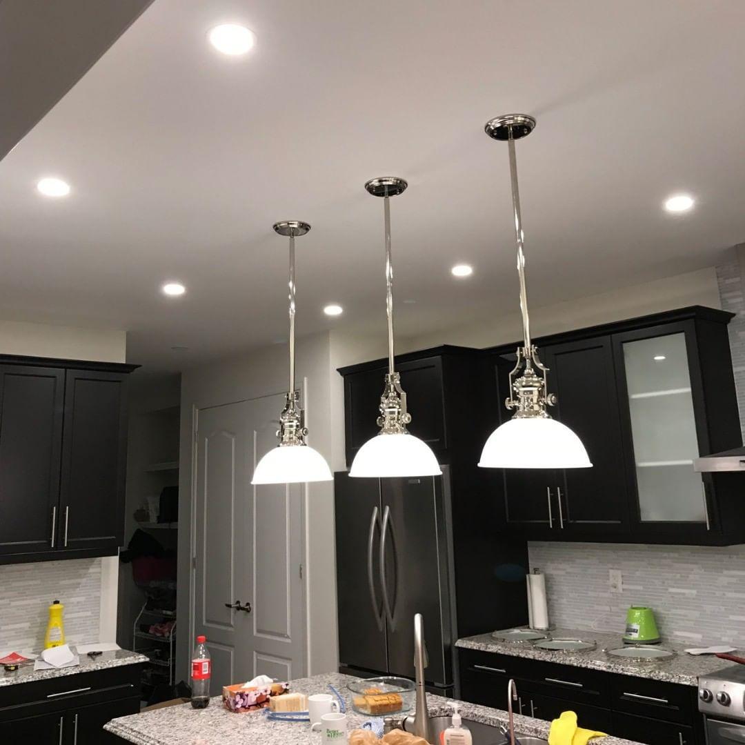 Kitchen Lights Installation