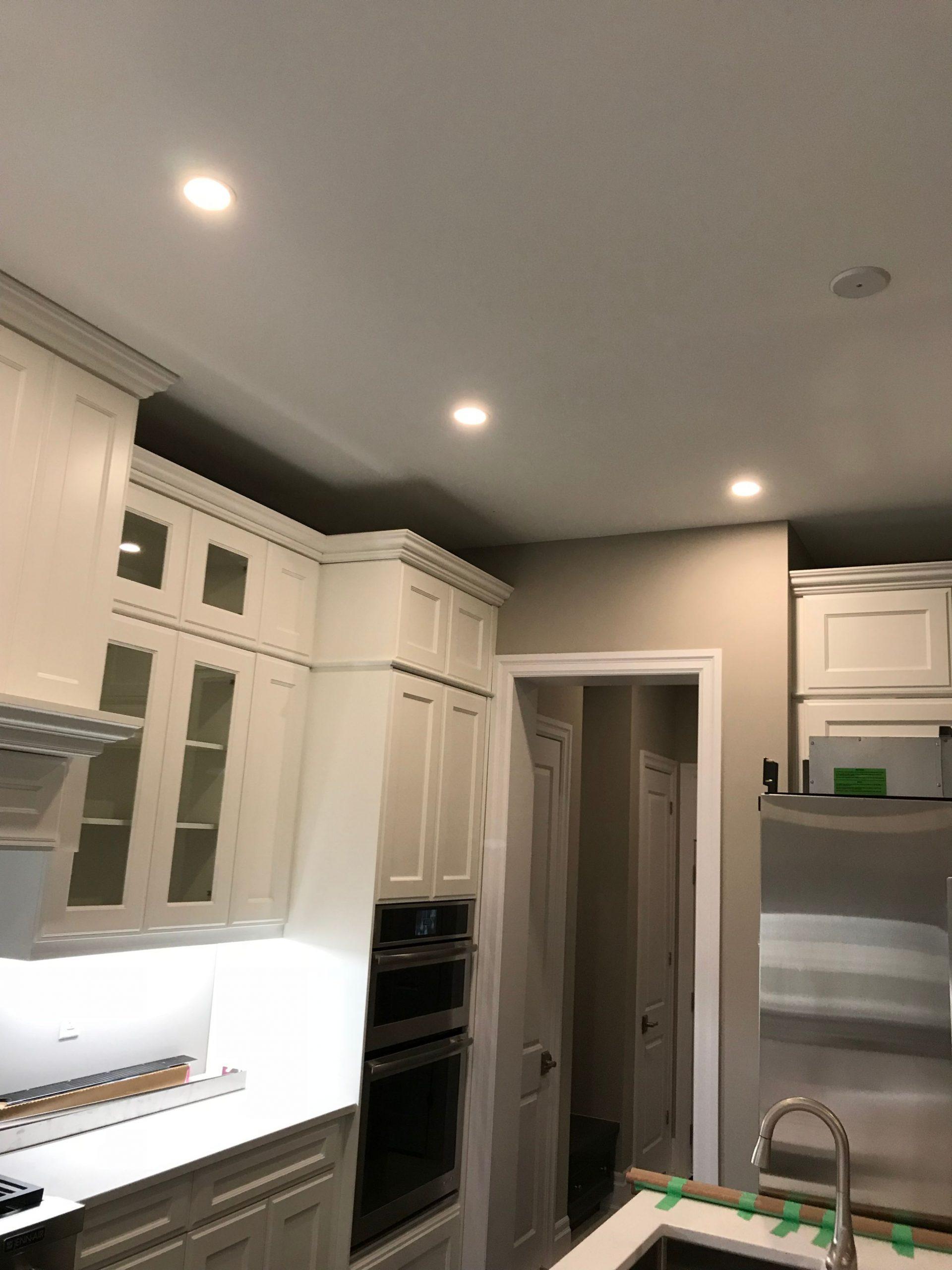 custom kitchen pot lights