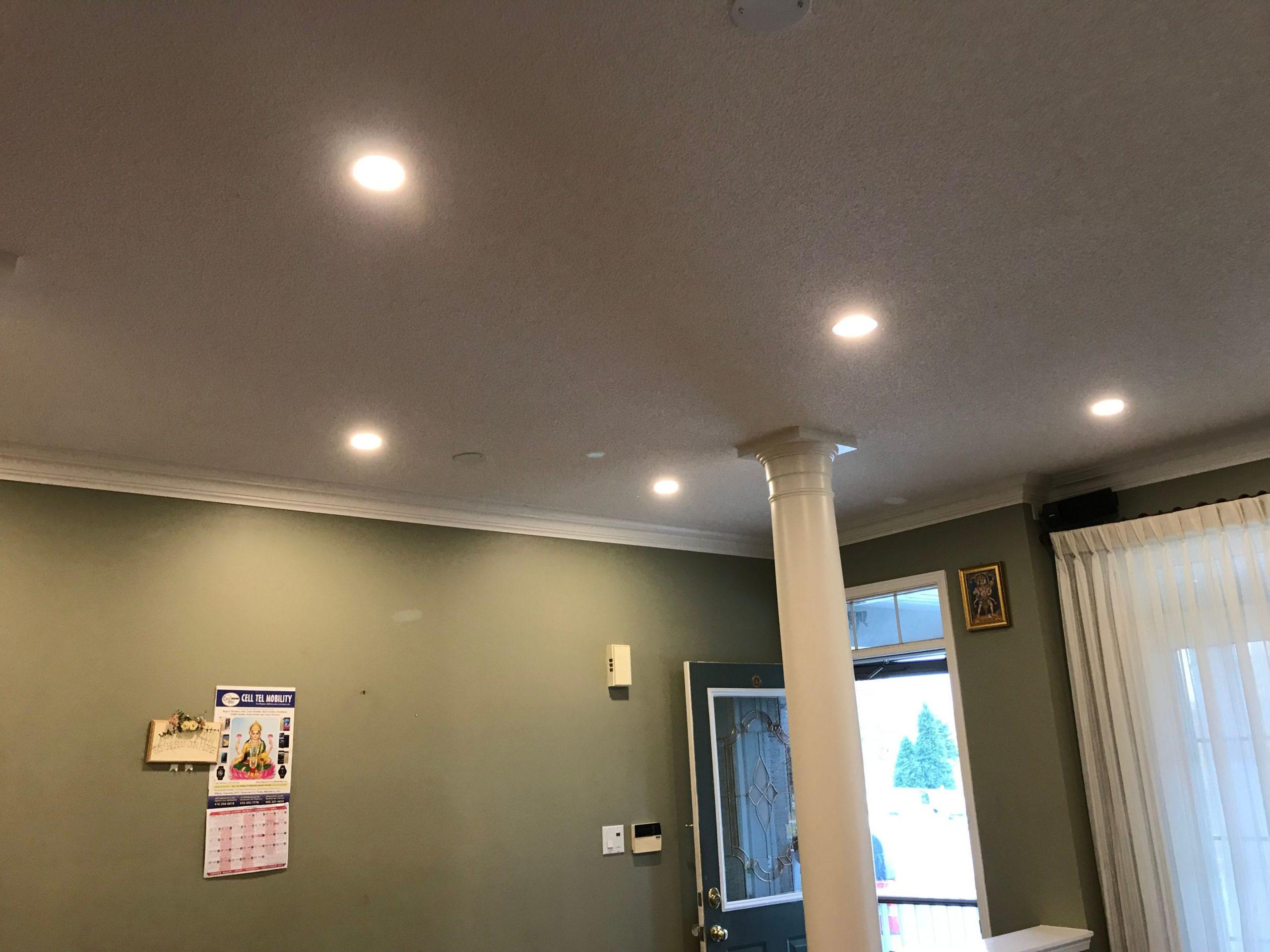 hallway potlights - pot lights toronto