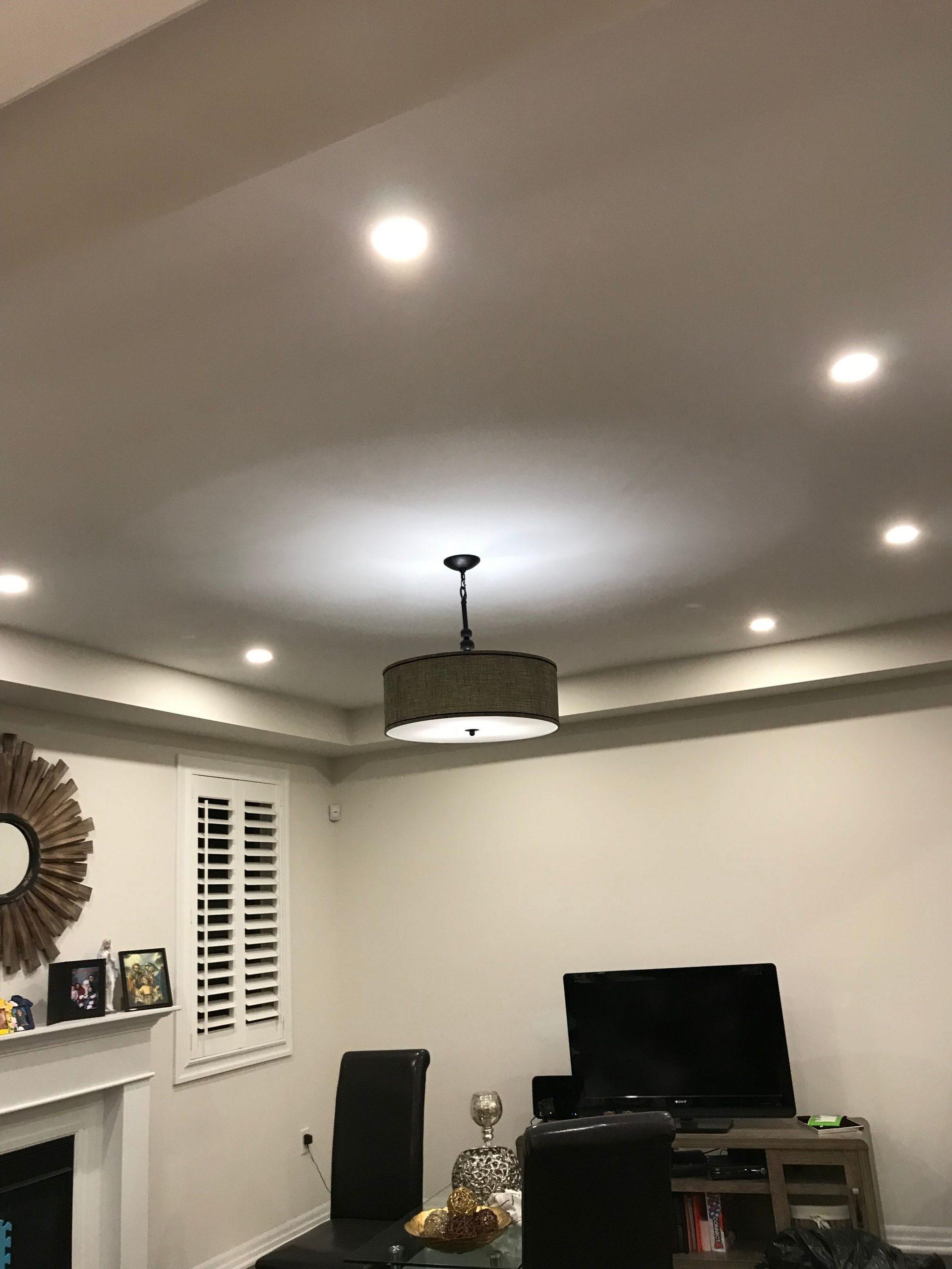 living room pot lights
