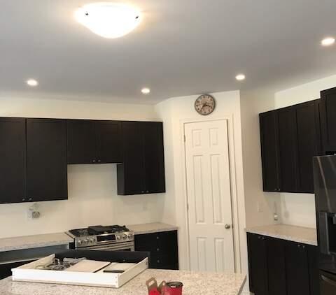 kitchen potlight installation