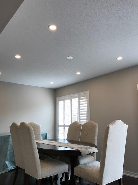 dining room potlights