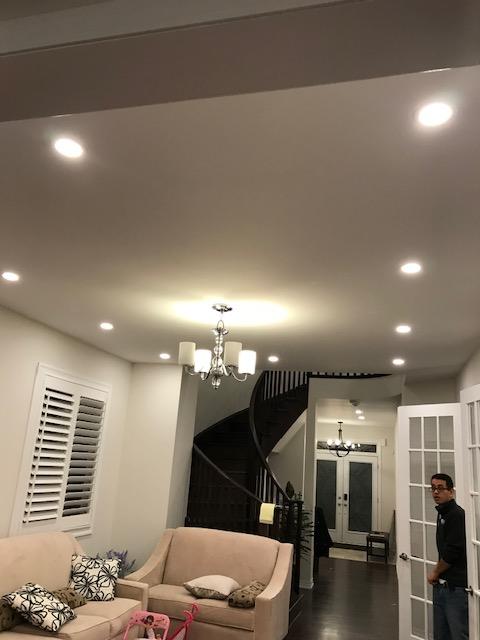 pot light installation innisfil